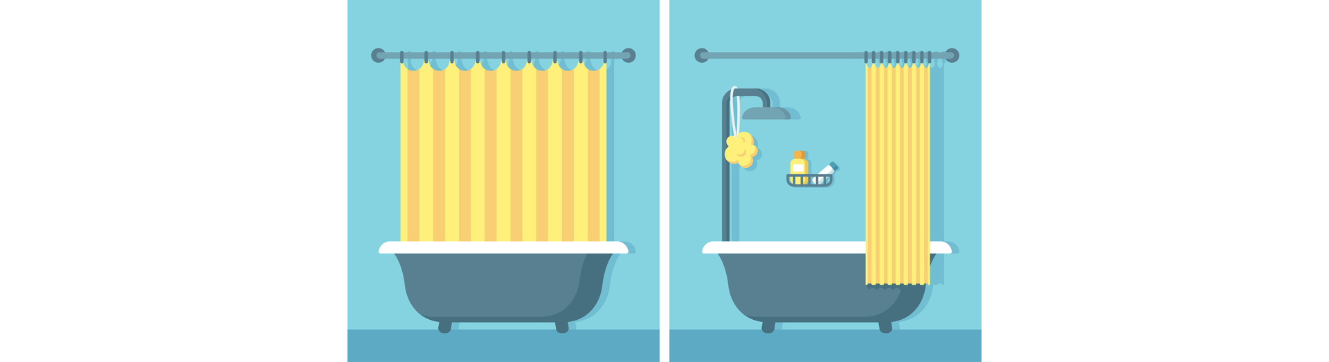 une baignoire ou une douche dans votre bien immobilier. Black Bedroom Furniture Sets. Home Design Ideas